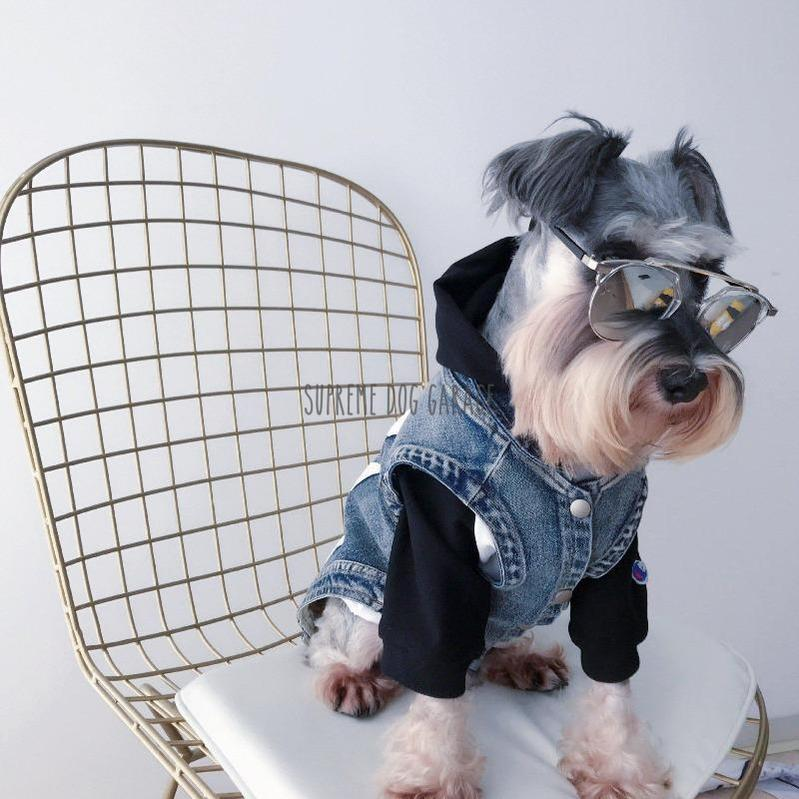 Woof Denim Dog Vest
