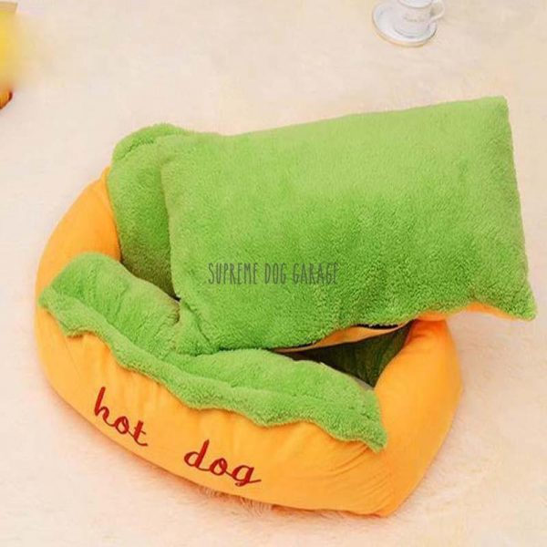 Hot Dog Dog Bed