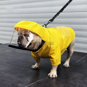 HAPPYPA Rain Jacket For Dogs