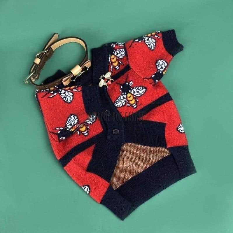 Bee Reddy Dog Sweater