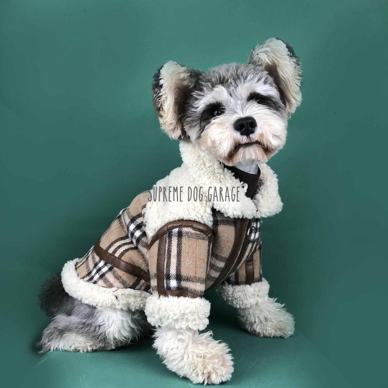 Furry Fluffy Dog Winter Coat