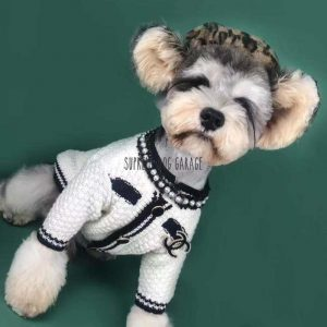 CC Knitted Designer Dog Sweater