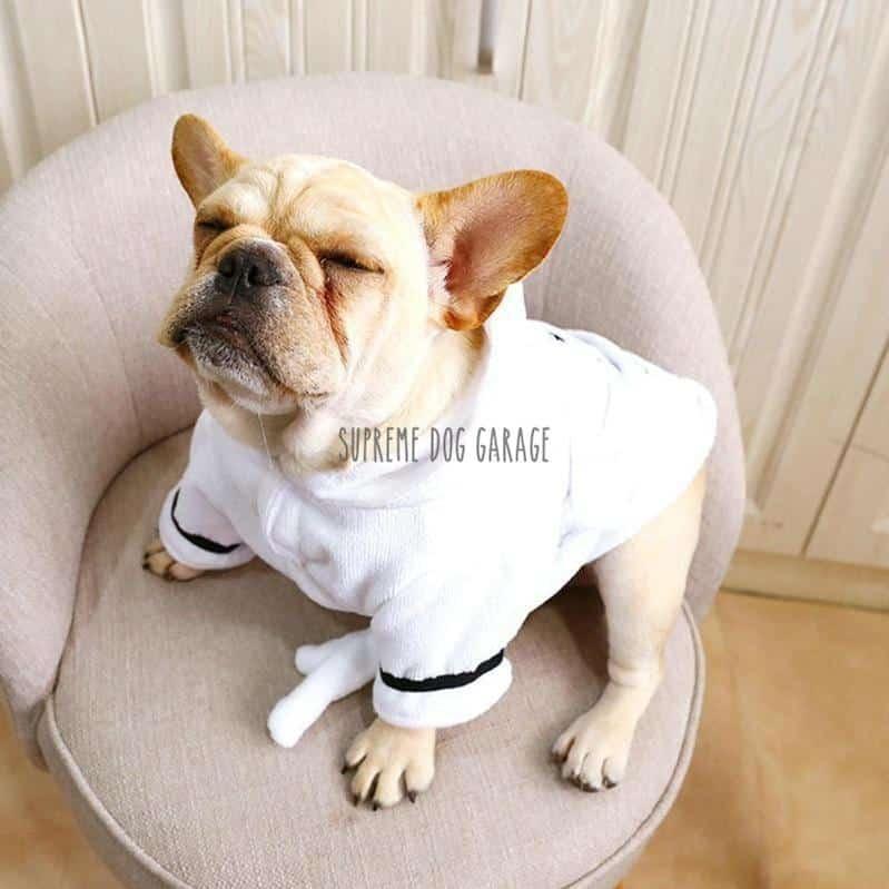 Love Me Dog Bathrobe
