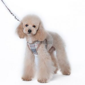 plaid harness for dogs