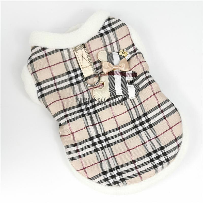 Furry Berry Winter Dog Harness Vest