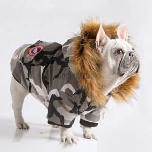 USA Pooch Camo Dog Parka
