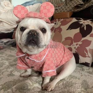 Dolce Doggo Pink Dog Shirt With Hat Set