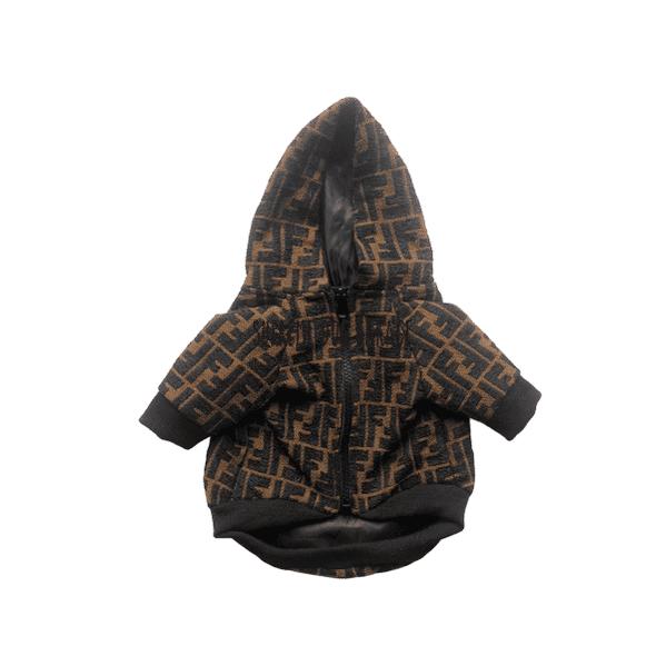 Furendi Monogram Dog Hooded Jacket