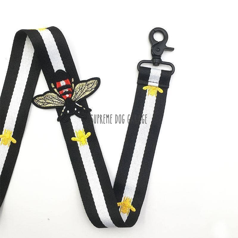 Pawcci Bee Step In Designer Dog Harness & Leash Set