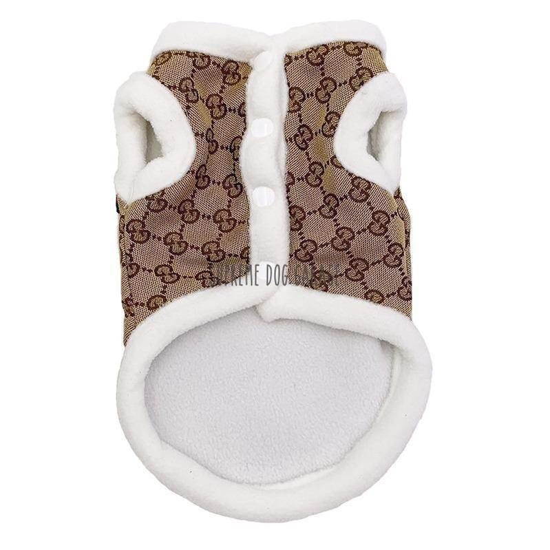 Pawcci Winter Dog Harness Vest