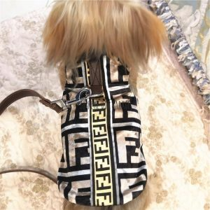 Furry FF Designer Dog Harness Vest & Leash Set