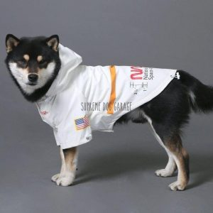 Time Traveler Reflective Dog Windbreaker