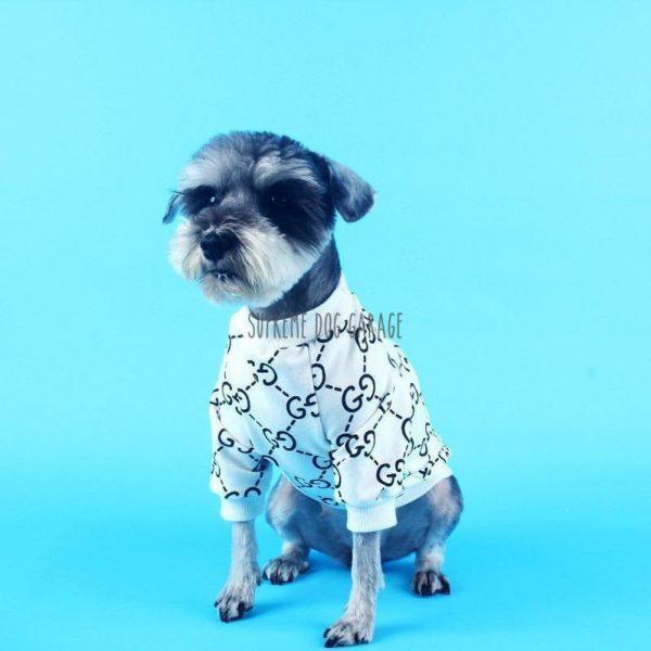 Essentials Monogram Designer Dog Sweatshirt