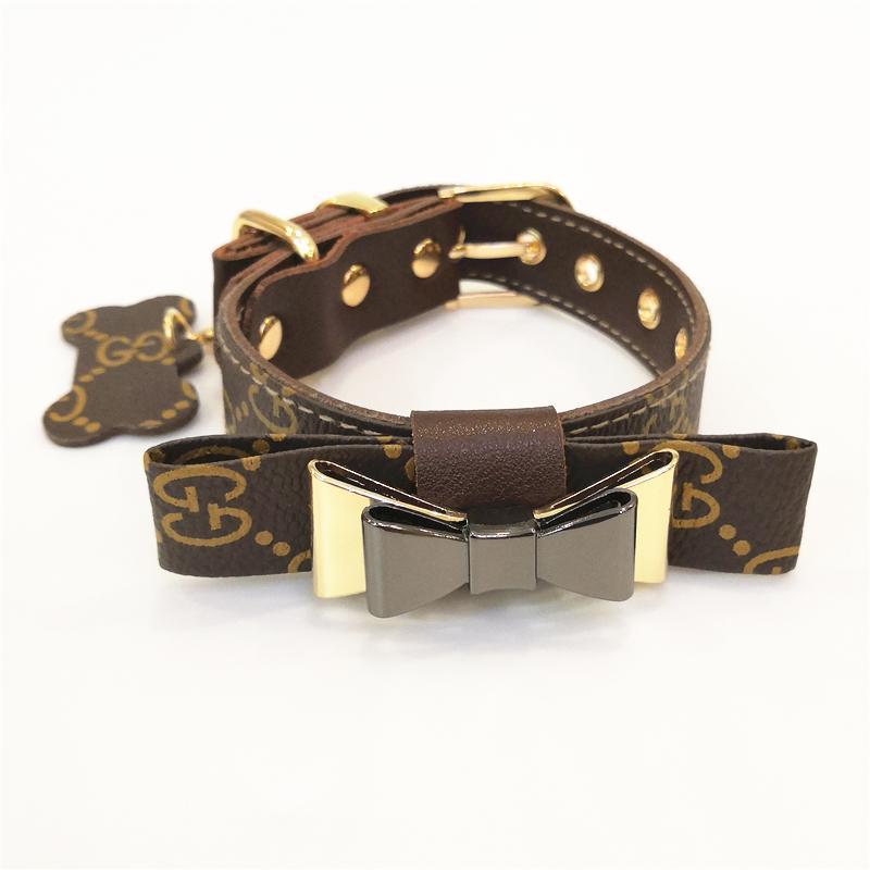 bow tie dog collar gucci