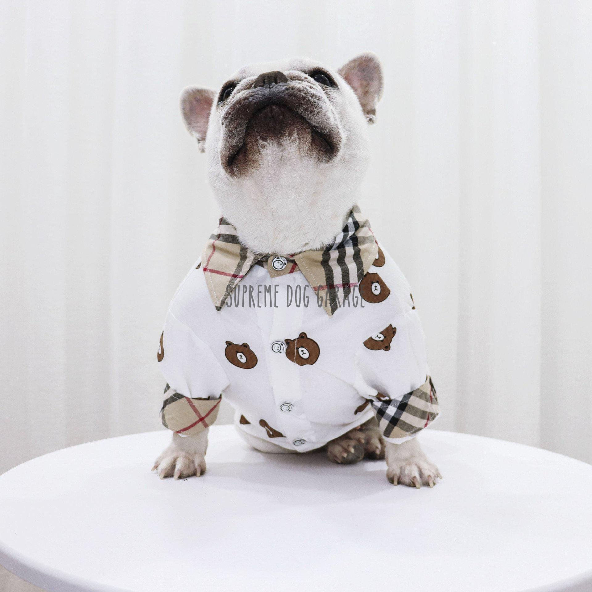 burberry dog shirt