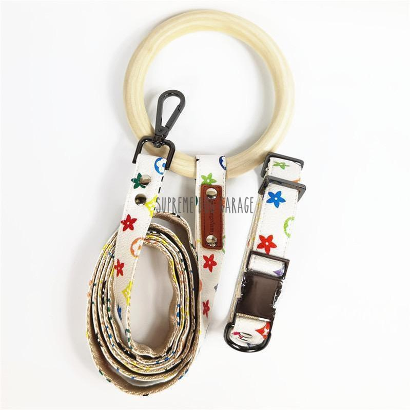 louis vuitton dog collar and leash