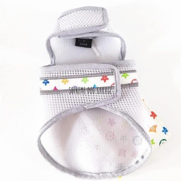 Bonjour Designer Dog Vest With Bag Set