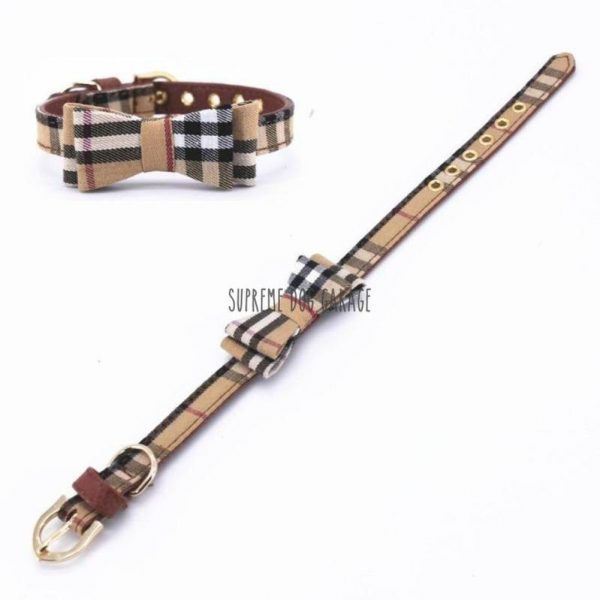burberry dog collar and lead
