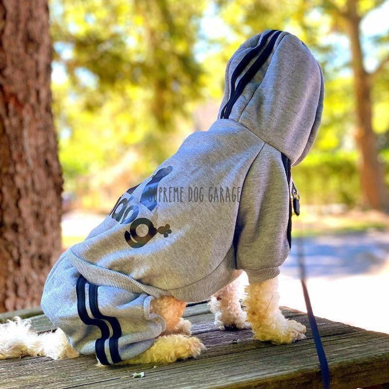 Adi Doggy Originals Dog Jumpsuit With Hood