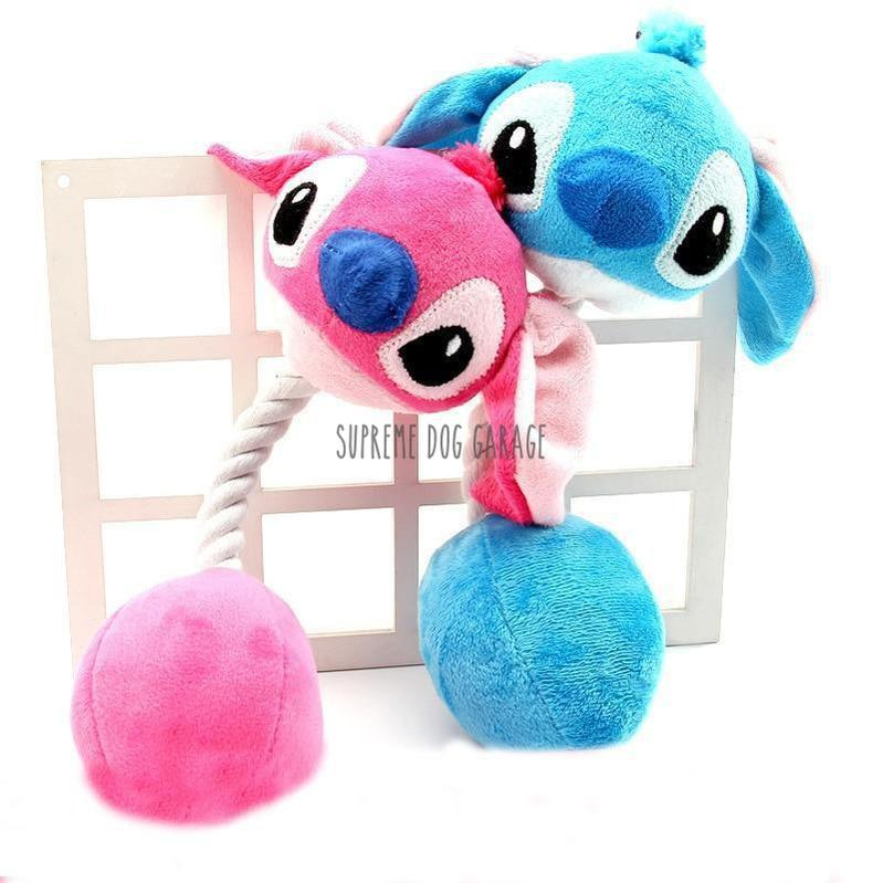 Stitch Plush Dog Toy