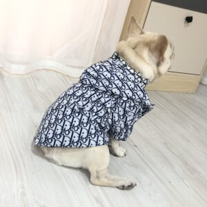 dior dog jacket