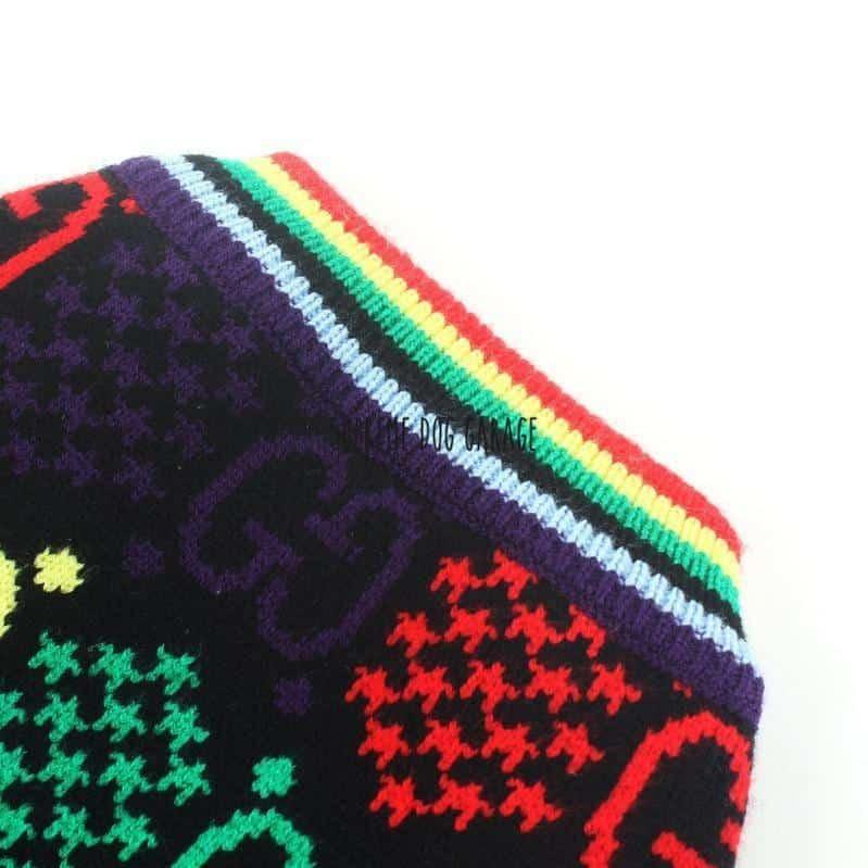Pawcci Rainbow Designer Dog Sweater