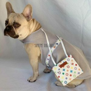 Bonjour Designer Dog Vest With Bag Set