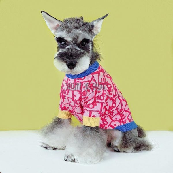 DD Pinky Designer Dog Sweater