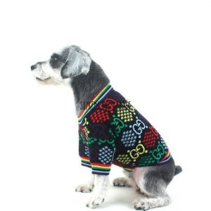 Pawcci Rainbow Designer Dog Sweater