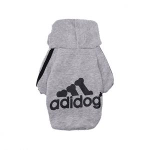 adidog grey hoodie