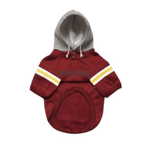 red dog hoodie
