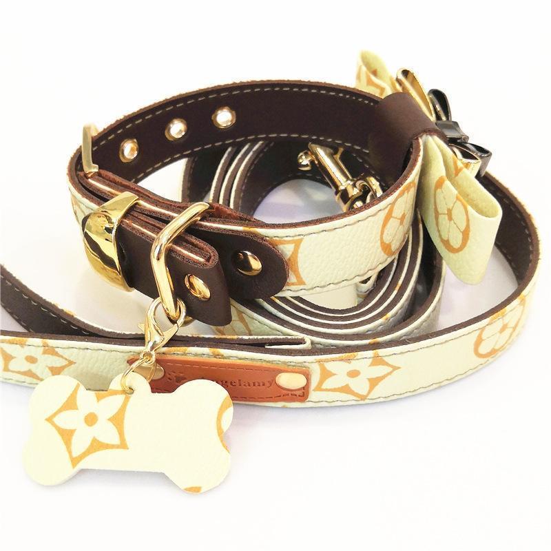 designer dog collar and leash louis vuitton