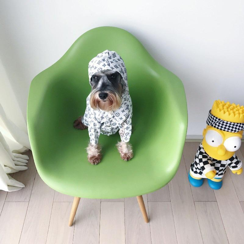 designer dog raincoat