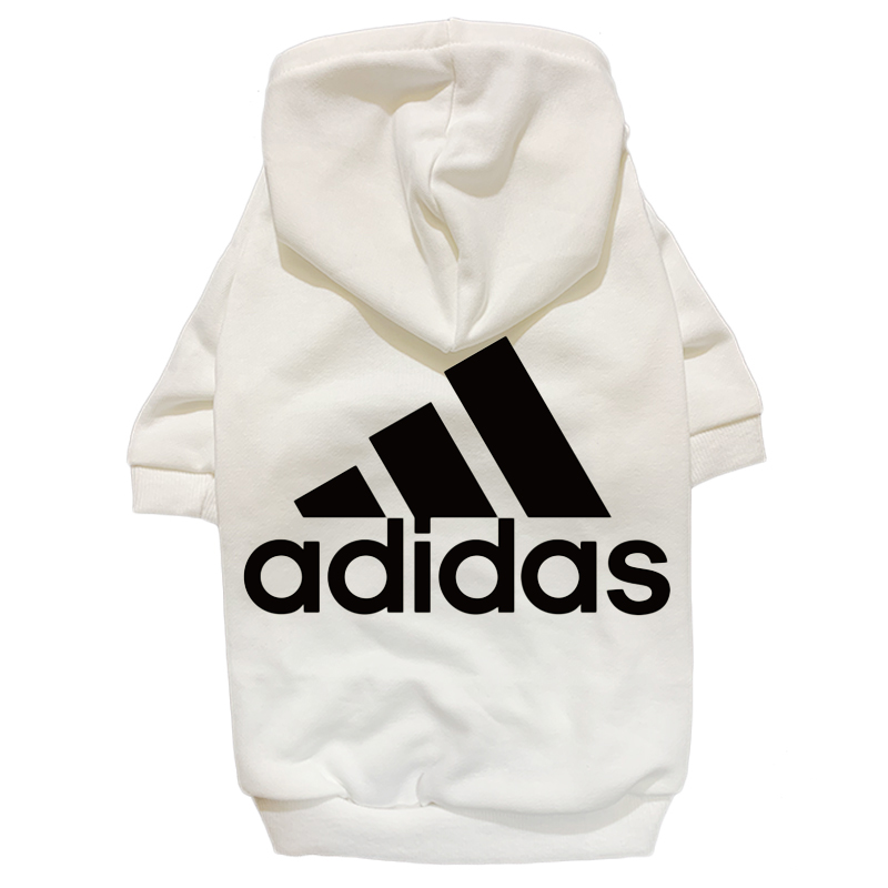adidas dog hoodie