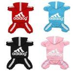 dog adidas jumpsuit