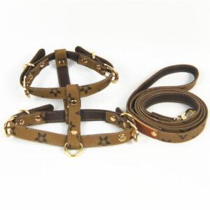 louis vuitton dog harness