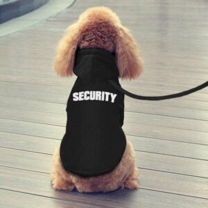 security hoodie for dogs