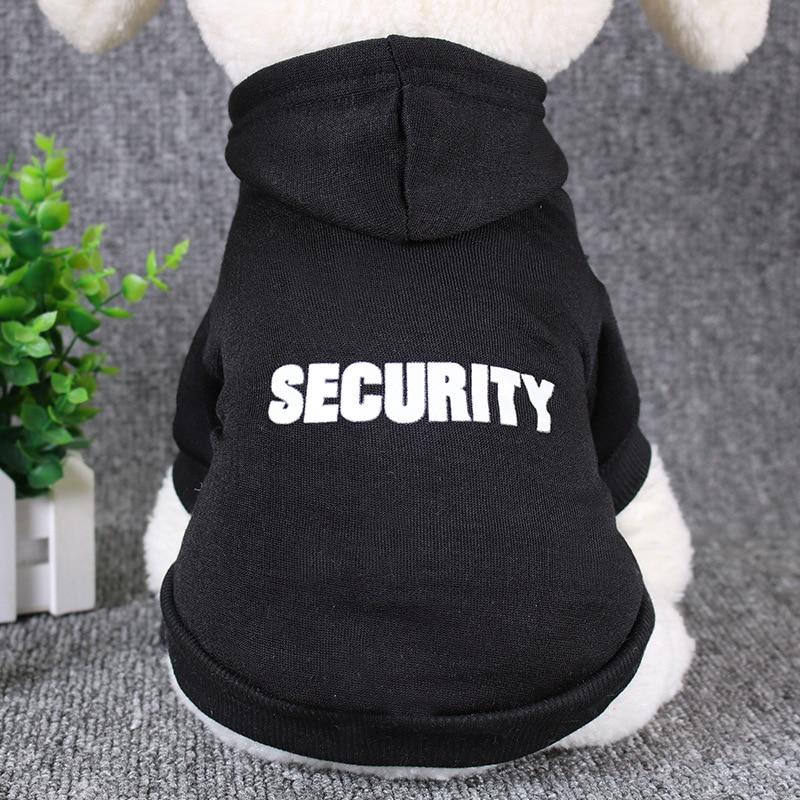 security dog clothing