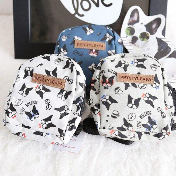french bulldog backpack harness