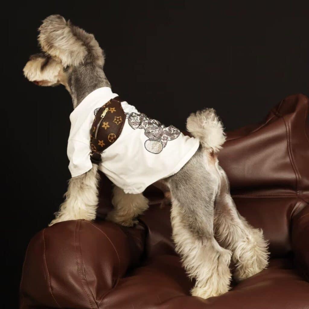 louis vuitton dog shirt