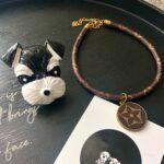 lv dog necklace