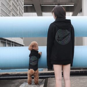 dog and human matching outfits